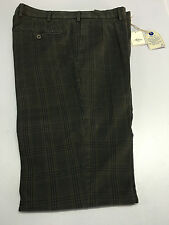 ALORI1961 men's trousers prince of wales grey 98%cotton MADE IN ITALY