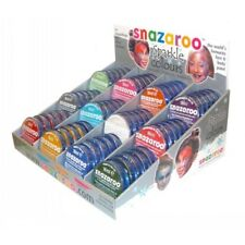 Sparkle Snazaroo Face Paint Adults Kids Fancy Dress Make Up Sparkle Colours