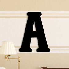 Unfinished Wood Co. Oversized Painted Letter Hanging Initial