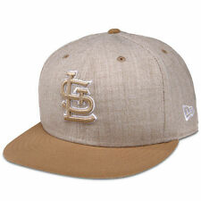 St. Louis Cardinals New Era Heather League Basic 59FIFTY Fitted Hat - Tan - MLB