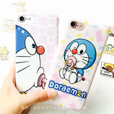 Kawaii Cartoon Doraemon Adorable Painting Soft Case Cover for iPhone 6 6s 7 Plus