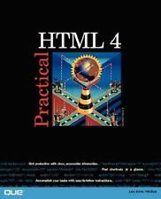 NEW Practical HTML 4 By Lee Ann Phillips Paperback Free Shipping