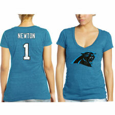 Cam Newton Carolina Panthers Tri-Blend Name & Number T-Shirt - Blue  - - NFL