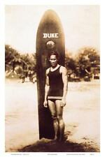 Young Duke Kahanamoku, Honolulu, Hawaii Art Print