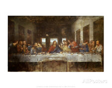 Last Supper Art Print by Leonardo da Vinci, Wall Art Decor Bedroom LivingRoom