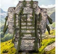 Army Rucksack Backpack Hiking Tactical Military 80L Large Camping Survival Bag