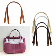 Tote Bag PU Leather Handle Strap Handles Replacement DIY Strap Handbag Purse 2Pc