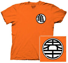 Dragonball Z - Kame Symbol T-Shirt Orange Shirt Tee New