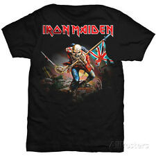 Iron Maiden - Trooper T-Shirt Black Shirt Tee New