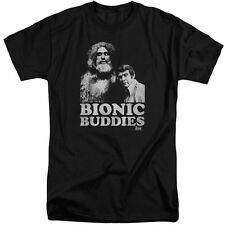 Six Million Dollar Man Bionic Buddies Mens Big and Tall Shirt