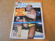 HULK HOGAN DUSTY RHODES PRO WRESTLING ILLUSTRATED JUNE 1988 VG Blanchard Poster