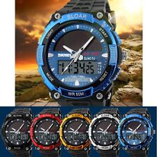 Luxury Sport Army Wrist Watch Mens Analog Quartz Day Date Alarm Dive Watch EFFU