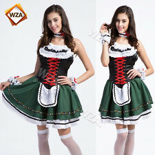 Oktoberfest Girls Fancy Dress German Beer Womens Waitress Halloween Costume