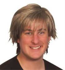 Adult Mens Boy Band Wig for 90s Fancy Dress Accessory