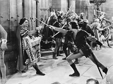 Errol Flynn on a Fighting Scene High Quality Photo