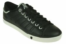 K-SWISS 02647-019 COURT PC Men's (M) Black/White Leather Casual Lifestyle Shoes
