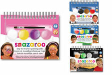 Step By Step Snazaroo Fancy Dress Face Paint Make Up Kits Halloween