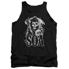 Sons Of Anarchy Smoky Reaper Mens Tank Top Shirt