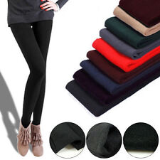 Womens Warm Winter Thick Skinny Slim Footless Leggings Stretch Pants New