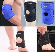 Knee Ankle Elbow Brace Support Foot Drop Protector Elastic Sports Gym Wraparound
