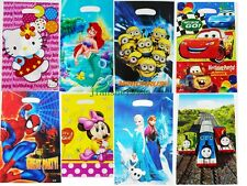 FROZEN Spiderman Minion Cars Birthday Party Supplies Boys Girls Gift Loot Bags