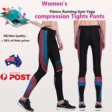NEW Womens Sport Running Yoga Gym Compression Tights Fitness Pants Trousers Skin