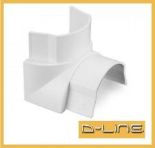 D Line 30x15 Internal Corner Bend Trunking Accessory Connector All Colors