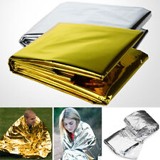 5PC Waterproof LIFE Emergency Foil Blanket Survival Rescue Tent Thermal FirstAid