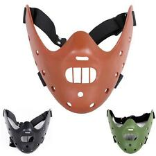 Hannibal Lecter Resin Mask The Silence of the Lambs Halloween Costume Cosplay