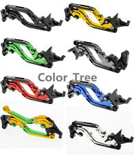 CNC Folding Extend Clutch Brake Levers For YAMAHA R1 R6 FZ16 MT09 MT01 FZ1 FAZER