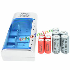 5x D  Ni-MH Rechargeable Battery +5x C  Ni-MH  Rechargeable Battery+Charger