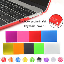 Rubberized Hard Case Shell+Keyboard Cover For Macbook Retina 12/13/15 Air 11/13