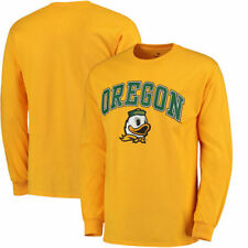 Oregon Ducks Campus Long Sleeve T-Shirt - Yellow - College