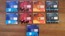 Lot 9 Sealed SONY Color Recordable MD 80 Mini Disc Made in Austria &  Japan NOS