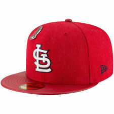 St. Louis Cardinals New Era Pin Collection 59FIFTY Fitted Hat - Red - MLB