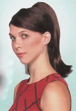 Long Straight REVERSIBLE Ponytail Hairpiece w/Claw Clip - Black/Brown/Blond