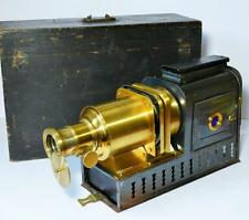 Victorian tinplate magic lantern, the 'Helioscopic' by Walter Tyler, London