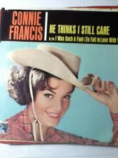 Connie Francis. He Thinks I Still Care ~ 1962 MGM 45 +PS