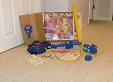 The Real Ghostbusters Proton Pack In Box Ghost Trap PKE Meter Arm Band ID Card