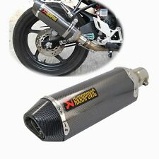 Exhaust Muffler exellent olso we give free  Akrapovic decal
