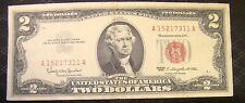 United States Two Dollar $2 Bill 1963 A 15217311 A Red Seal