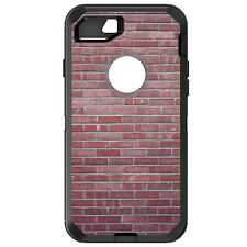 CUSTOM OtterBox Defender for iPhone 6 6S 7 PLUS Red Brick Wall