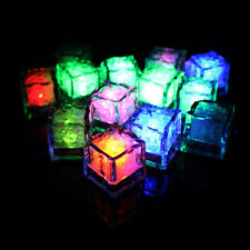 LED Party Lights ice cubes Glowing Blinking Flashing Novelty Party Decoration WB