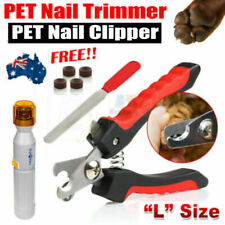 2in1 Pet Nail Clipper Cutter Scissors Rabbit and Grooming Care Grinder Clipper