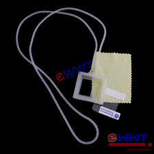 Lanyard Silicone Soft Cover Case White + Film for iPod Nano 6th Gen 6 G6 XWSC896
