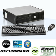 Black Friday Sale! Fast Dell Desktop Computer Core 2 Duo Windows 10 Home Pro XP