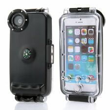 "IPX8 130ft 40M Underwater Diving Waterproof Housing Case for iPhone 6s 4.7"" 5.5"""