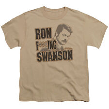 Parks and Recreation Ron F***Ing Swanson Big Boys Shirt