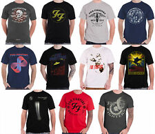 Foo Fighters T Shirt Band Logo Sonic Highways Wasting light Official Mens New