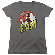 DC Comics Run Flash Run Womens Short Sleeve Shirt